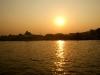 Lever de soleil sur le fleuve