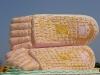 Autre beau bouddha couché en plein air