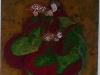 Elisabeth :Deux femmes porteuses de plats (première œuvre)