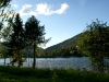 La rivière au bord du bungalow Elgen à Vinstra