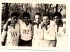 Équipe cadets : champions d'académie en cross country février 1963