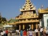 Rangoon Site de la pagode Shwedagon