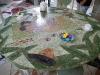 Table en laque de salle à manger