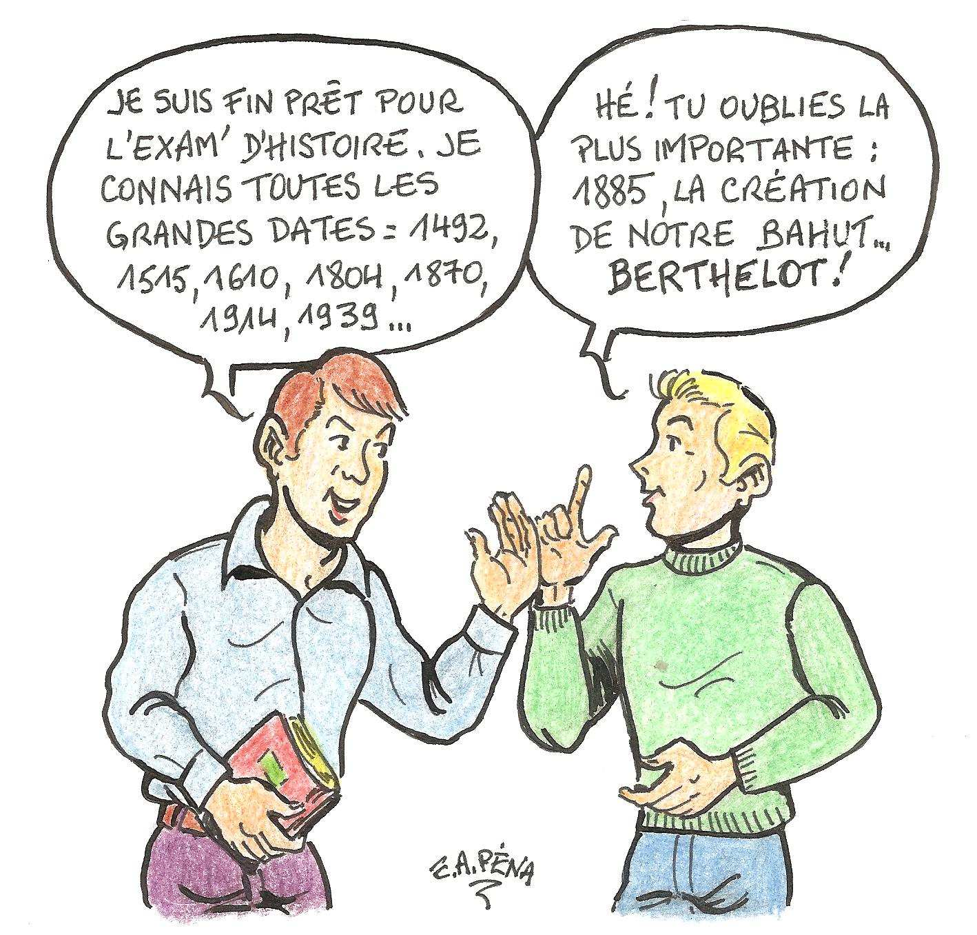 Dessin Emile Berthelotin 35