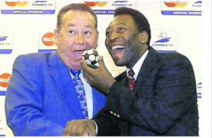 Just Fontaine et Pelé